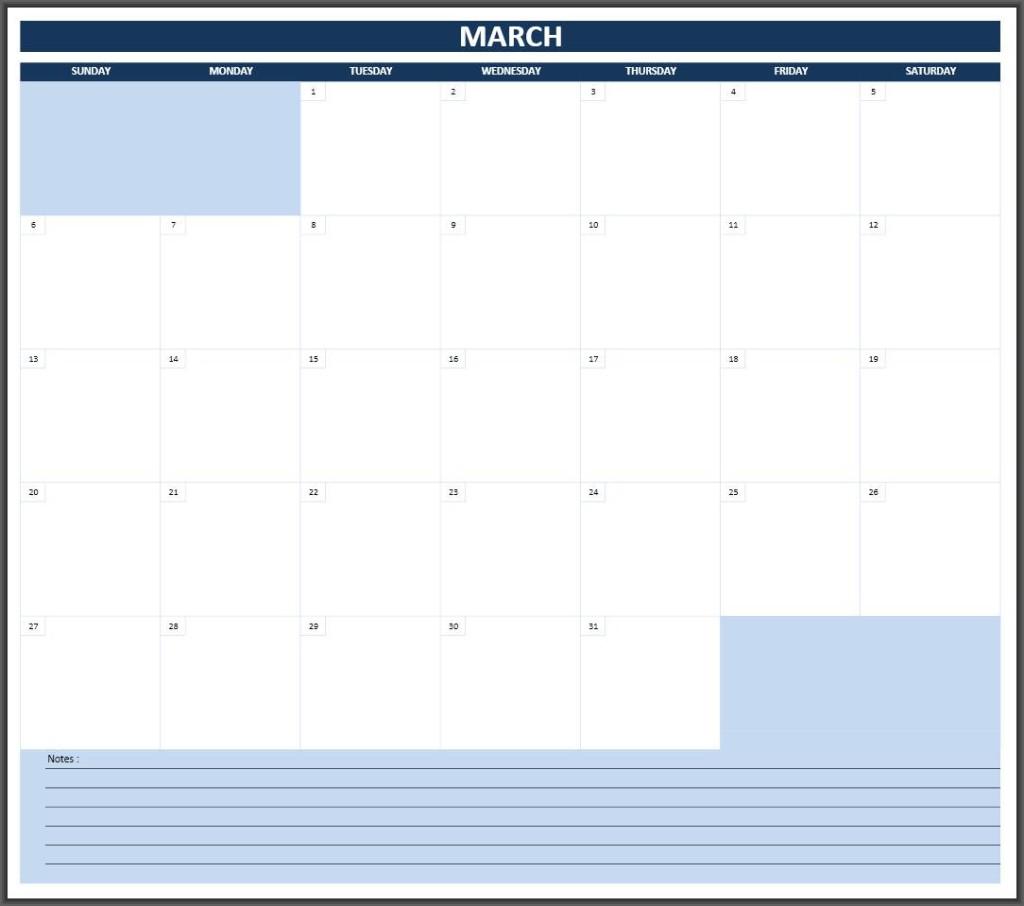 Excelcalendars 2016 Calendar Monthly 1024x906 2016 Calendars