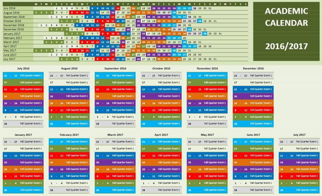 2016-2017 School Calendar 7