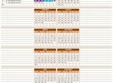 2017 Calendar Model 6